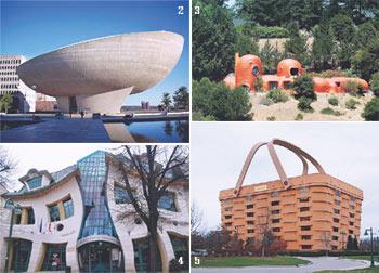 10ตึกประหลาด, ตึกแปลกประหลาด, สถาปัตย์, ความคิดสร้างสรรค์